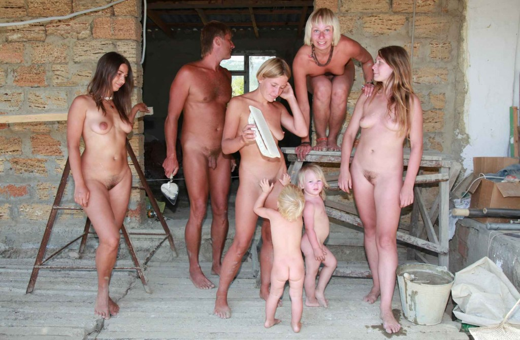 naturist family images