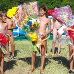 Nudist beauty contest photos of young naturists
